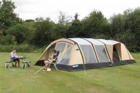 Družinski šotor pred nakupom