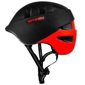 Čelada CHERUB Črno-Rdeča