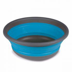 Zložljiva Okrogla Posoda Large Modra