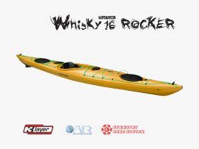 Kajak Whisky 16 Rocker Kobilica in Krmilo
