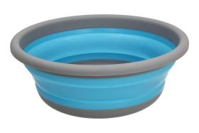 Zložljiva Okrogla Posoda Medium Modra