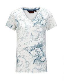Ženska T-shirt Majica Chardy Bela