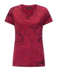 Ženska T-shirt Majica Chardy Temno Roza