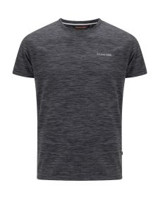 Moška T-shirt Majica Oakhem Temno Siva