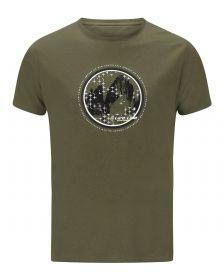 Moška T-shirt Majica Oundle Olivno Zelena