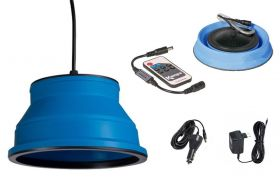 Luč LED Groove Modra