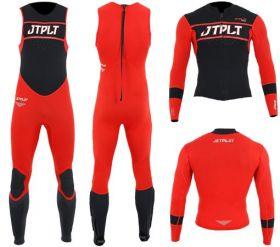 Obleka Neo Matrix Race John & Jacket Rdeča