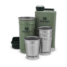 Set Prisrčnica in Kozarci Adventure Shot Glass & Flask Set Zelena