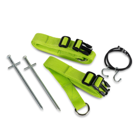 Storm Tie Down Kit Zelen