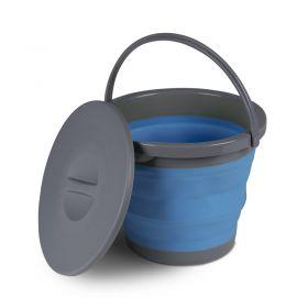 Vedro Zložljivo s Pokrovom  5 L Modro